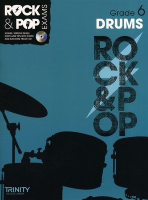 Rock & Pop Exams: Drums - Grade 6 - Book with CD - Drums Trinity College London /CD