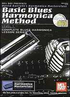 Basic Blues Harmonica Method Lev 1 - Harmonica Mel Bay