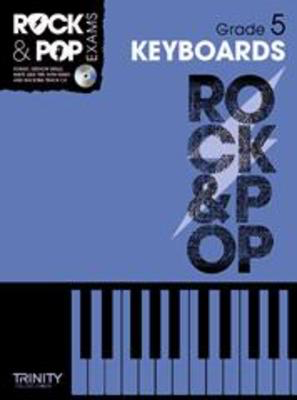 Rock & Pop Exams: Keyboards - Grade 5 - Book with CD - Keyboard|Piano Trinity College London /CD