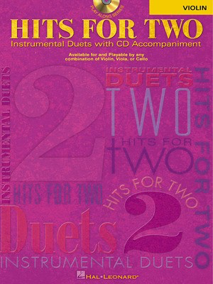Hits for Two - Violin - Various - Violin Hal Leonard Violin Duet /CD