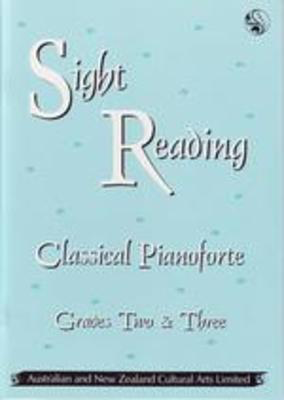 Sight Reading Classical Pianoforte Gr 2 - 3 - Piano ANZCA