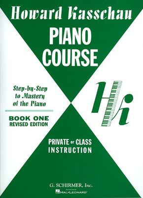 Piano Course - Book 1 - Piano Technique - Howard Kasschau - Piano G. Schirmer, Inc. - Adlib Music
