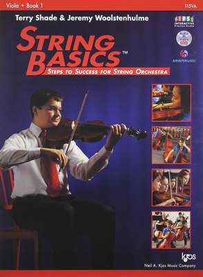 String Basics, Book 1 Viola - Steps to Success for String Orchestra - Jeremy Woolstenhulme|Terry Shade - VIOLA - Neil A. Kjos Music Company /DVD