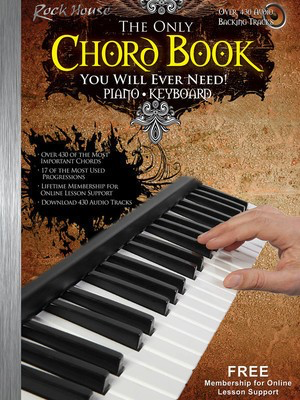 The Only Chord Book You Will Ever Need! - Keyboard Edition - John McCarthy Rock House Sftcvr/Online Audio