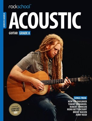 AMEB Rockschool Acoustic Guitar - Grade 8 (2016) - Guitar Rock School Limited Sftcvr/Online Audio