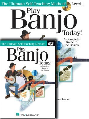 Play Banjo Today! Beginner's Pack - Level 1 Book/CD/DVD Pack - Banjo Colin O'Brien Hal Leonard Banjo TAB /CD/DVD