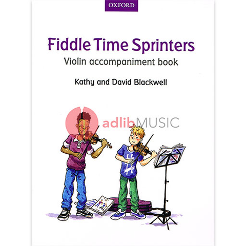Fiddle Time Sprinters Violin Accompaniment Book - David & Kathy Blackwell