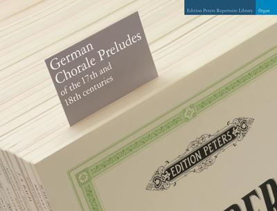 German Chorale Preludes Of The 17th And 18th Centuries - Various - Organ Edition Peters Organ Solo