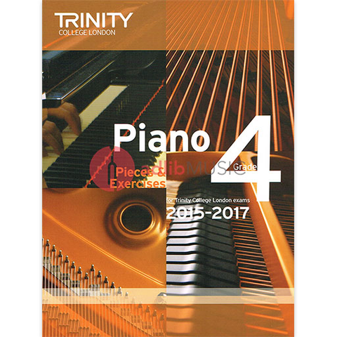 Trinity Piano Exam Pieces 2015-17 Grade 4 - Trinity