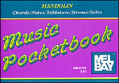 Mandolin Pocket Book - Mandolin Mel Bay
