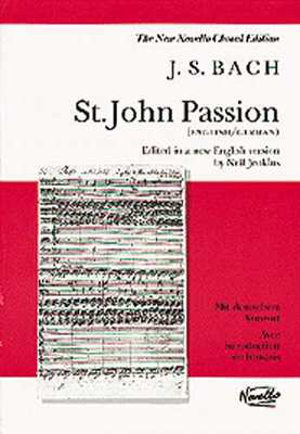 St John Passion Satb Ed Jenkins German/English - - Adlib Music