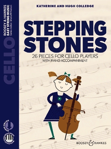 Stepping Stones - Colledge - Cello & Piano Accompaniment - Boosey & Hawkes