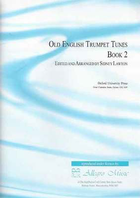 Old English Trumpet Tunes Book 2 - Trumpet Sidney Lawton Oxford University Press