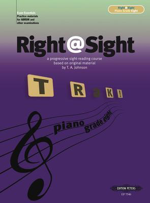 Right@Sight Grade Eight - Thomas Arnold Johnson - Piano Edition Peters Piano Solo