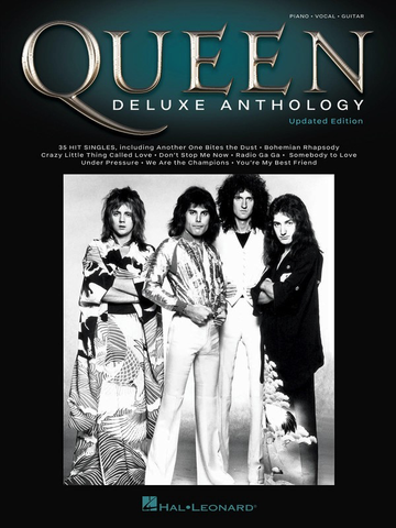 Queen Deluxe Anthology Updated Edition - Piano|Vocal|Guitar - Hal Leonard