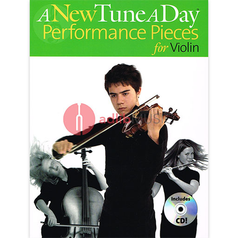 A New Tune a Day Performance Pieces - Violin - Book/CD - Various - Boston Music