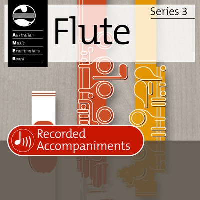 Flute Series 3 Second Grade - Recorded Accompaniments - Flute AMEB CD - Adlib Music