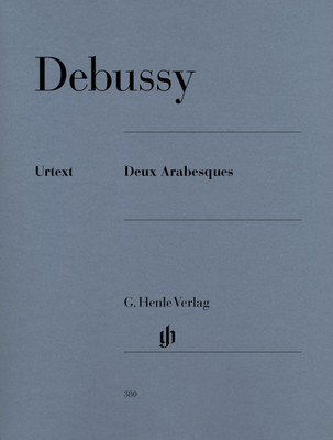 Two Arabesques - Claude Debussy - Piano G. Henle Verlag Piano Solo