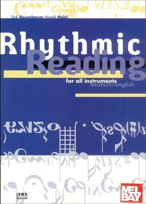 Rhythmic Reading for All Instruments - All Instruments Dirk Rosenbaum|Harald Heinl AMA Verlag /CD