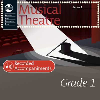 Musical Theatre Series 1 - Grade 1 - Recorded Accompaniments - Vocal AMEB - Adlib Music