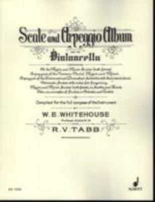 Scale and Arpeggio Album - for Cello - R.V. Tabb|William Edward Whitehouse - Cello Schott Music