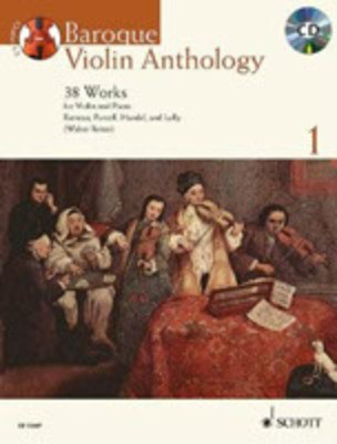 Baroque Violin Anthology Volume 1 - 38 Works - Violin Robin Bigwood Schott Music