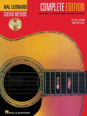 Hal Leonard Guitar Method, Second Edition - Complete Edition - Books 1, 2 and 3 Bound Together in One Easy-to-Use Volume! - Guitar Greg Koch|Will Schmid Hal Leonard /CD - Adlib Music