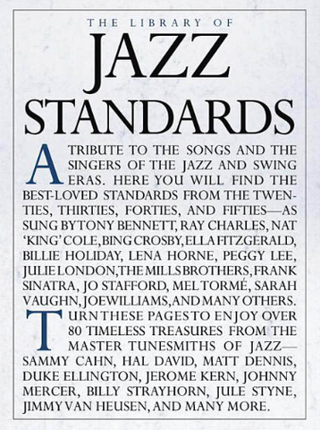 LIBRARY OF JAZZ STANDARDS - PIANO|VOCAL|GUITAR - Music Sales