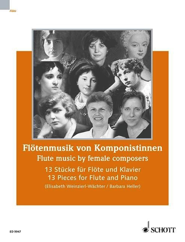 FLUTE MUSIC BY FEMALE COMPOSERS - SCHOTT