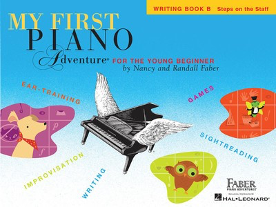 My First Piano Adventure - Writing Book B - Nancy Faber|Randall Faber - Piano Faber Piano Adventures - Adlib Music