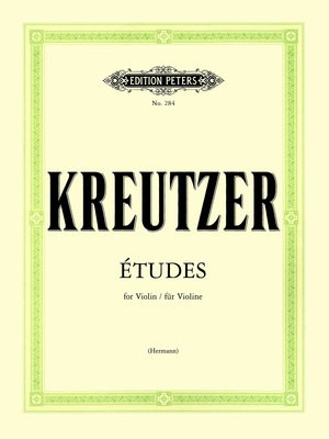 42 Studies or Caprices - Rudolphe Kreutzer - Violin Edition Peters