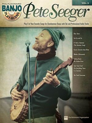 Pete Seeger - Banjo Play-Along Volume 5 - Banjo Michael Miles|Mike Kropp Hal Leonard /CD