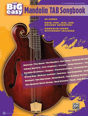 The Big Easy Mandolin Tab Songbook - The Big Easy Songbook Series - Various - Mandolin Hal Leonard
