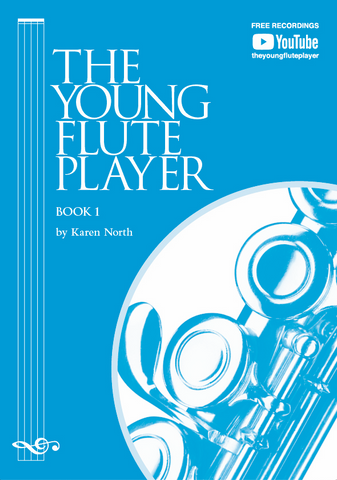 The Young Flute Player Book 1 - Student Book - Karen North - Flute Allegro