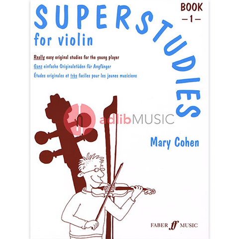 Superstudies Book 1 - Mary Cohen - Violin - Faber Music