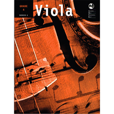 AMEB Series 1 Grade 4 - Viola/Piano Accompaniment 1202072039