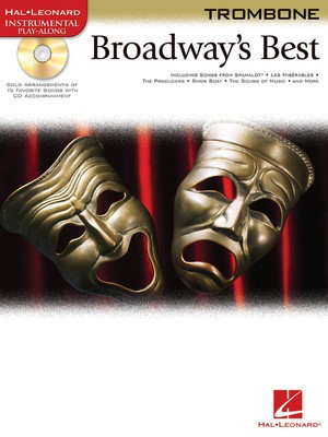 Broadway's Best - for Trombone - Various - Trombone Hal Leonard /CD
