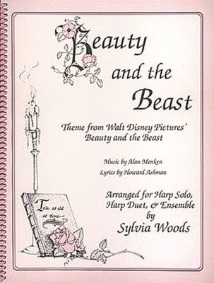 Beauty and the Beast - Arranged for Harp - Alan Menken|Howard Ashman - Harp Sylvia Woods Hal Leonard