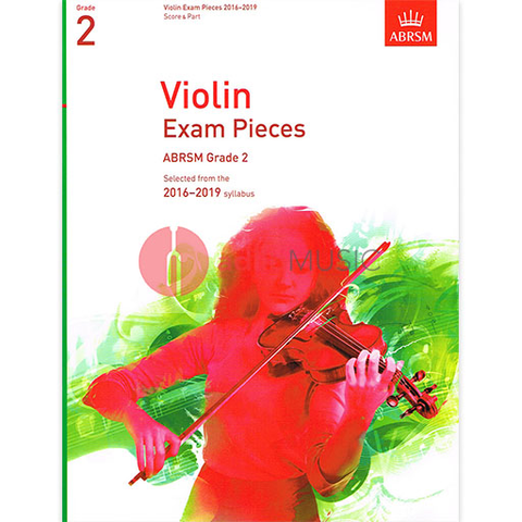 Violin Exam Pieces Grade 2, 2016-2019 - Score and Part