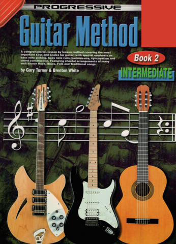 Progressive Guitar Method Book 2 - Guitar/Audio Access Online by Turner Koala KPGM2CP