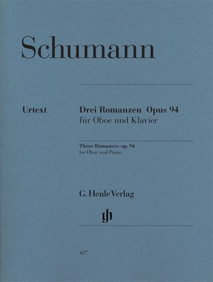 Romances for Oboe and Piano Op. 94 - Robert Schumann - Oboe G. Henle Verlag