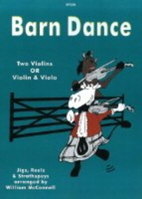 Barn Dance - Traditional - Viola|Violin William McConnell Spartan Press String Duo