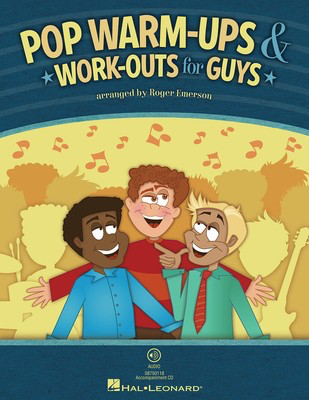 Pop Warm-Ups & Work-Outs for Guys - Roger Emerson Hal Leonard CD