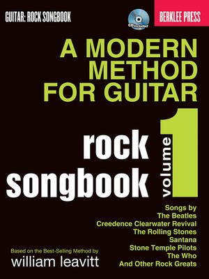 A Modern Method for Guitar Rock Songbook - Guitar Berklee Press /CD