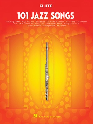 101 Jazz Songs for Flute - Various - Flute Hal Leonard - Adlib Music