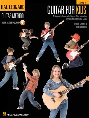 Guitar for Kids - Guitar/Audio Access Online by Morris/Schroedl Hal Leonard 865003