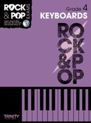 Rock & Pop Exams: Keyboards - Grade 4 - Book with CD - Keyboard|Piano Trinity College London /CD