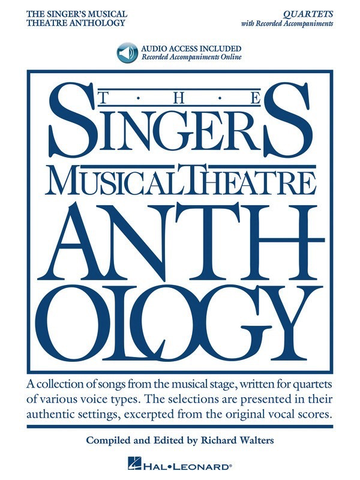 The Singer's Musical Theatre Anthology - Quartets - Vocal with Online Audio - Hal Leonard