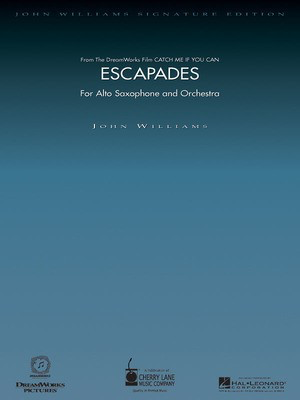 Escapades (from Catch Me If You Can) - Deluxe Score - John Williams - Cherry Lane Music Full Score Score