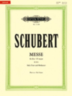 Mass No. 6 E Flat D. 950 - Franz Schubert - Classical Vocal Edition Peters Vocal Score